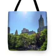 Nyc From Central Park Tote Bag