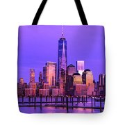 Nyc From Hoboken Tote Bag