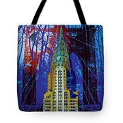 Nyc Icons Tote Bag by Gary Grayson