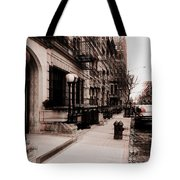 Nyc Neighborhood Series Tote Bag