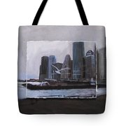 Nyc Pier 11 Layered Tote Bag