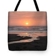Nye Beach Sunset Tote Bag