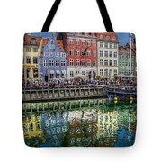 Nyhavn Harbor Area, Copenhagen Tote Bag