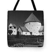 Nyker Round Church Tote Bag
