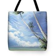 Nylon Pool Tobago. Tote Bag by Karin  Dawn Kelshall- Best