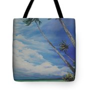 Nylon Pool Tobago. Tote Bag by Karin  Dawn Kelshall- Best