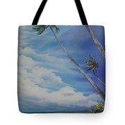 Nylon Pool Tobago. Tote Bag