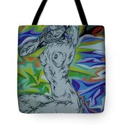 Nymph In Paradise Tote Bag