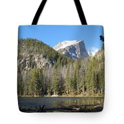 Nymph Lake In Rocky Mountain National Park Tote Bag