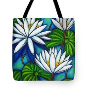 Nymphaea Blue Tote Bag