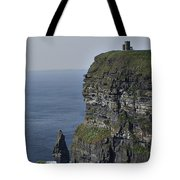 O Brien's Tower At The Cliffs Of Moher Ireland Tote Bag