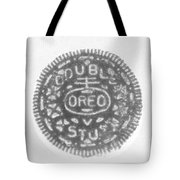 O R E O In Black Negative Tote Bag