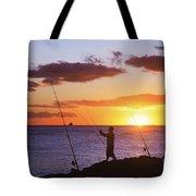 Oahu Fisherman Tote Bag