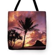 Oahu, Mokolii Island Tote Bag