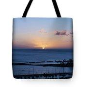 Oahu Sunset Tote Bag