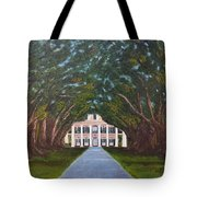 Oak Alley Plantation Tote Bag
