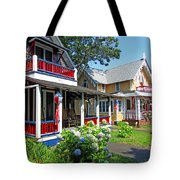 Oak Bluffs Gingerbread Cottages 1 Tote Bag