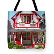 Oak Bluffs Gingerbread Cottages 2 Tote Bag