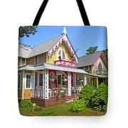 Oak Bluffs Gingerbread Cottages 3 Tote Bag