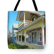 Oak Bluffs Gingerbread Cottages 5 Tote Bag
