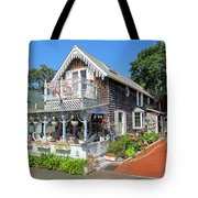 Oak Bluffs Gingerbread Cottages 8 Tote Bag