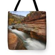 Oak Creek In Slide Rock State Park Tote Bag