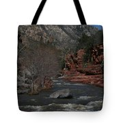 Oak Creek Surging Tote Bag