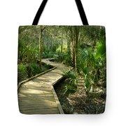 Oak Hammock Trail, Florida Tote Bag