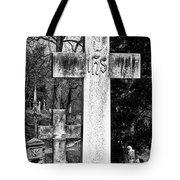 Oak Hill Cemetery Crosses #2 Tote Bag