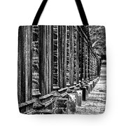 Oak Hill Cemetery Fence Tote Bag
