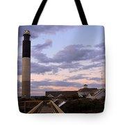 Oak Island Lighthouse Tote Bag