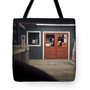 Oak Island Nc Pier Tote Bag