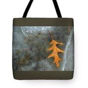 Oak Leaf In Ice  Tote Bag