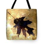 Oak Leaf Underwater Tote Bag