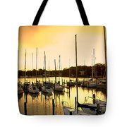 Oak Point Harbor Tote Bag