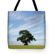 Oak Tree Landscape Tote Bag