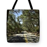 Oak Trees Along Live Oak Canyon Road Tote Bag