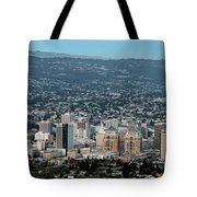 Oakland California Skyline Tote Bag
