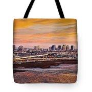 Oakland Sunset Tote Bag
