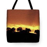 Oaks On Hill At Sunset Tote Bag