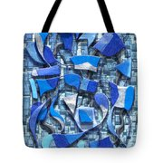 Oars And Rudders - Blue Tote Bag