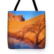 Oasis Tree Shadow Tote Bag