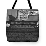 Oatman Arizona Tote Bag