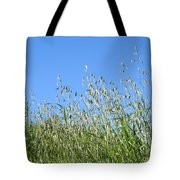 Oats And Sky Tote Bag