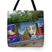 Oaxaca Graffiti Tote Bag