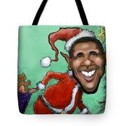 Obama Christmas Tote Bag
