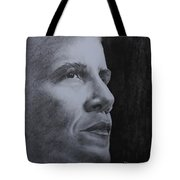 Obama Tote Bag by Lise PICHE