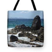 Obelisk In The Sea Tote Bag