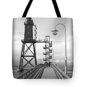 Obereversand Lighthouse - North Sea - Germany Tote Bag