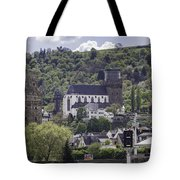 Oberwesel Old And New Tote Bag